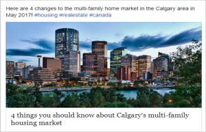 Calgary Market Update